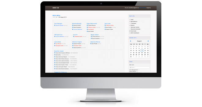 Tailored web tools - Bubblegate: Qunote case management software
